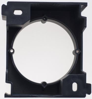 Schneider Electric Glossa Антрацит Расширение коробки наружного монтажа купить в интернет-магазине Азбука Сантехники