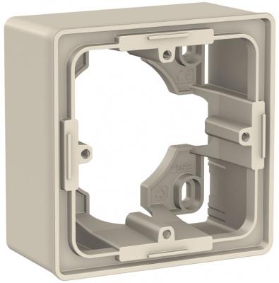 Schneider Electric Unica New Бежевый Коробка для открытой установки 2-постовая купить в интернет-магазине Азбука Сантехники
