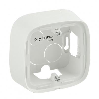 Legrand Valena Allure Белый Коробка для накладного монтажа 1 пост купить в интернет-магазине Азбука Сантехники