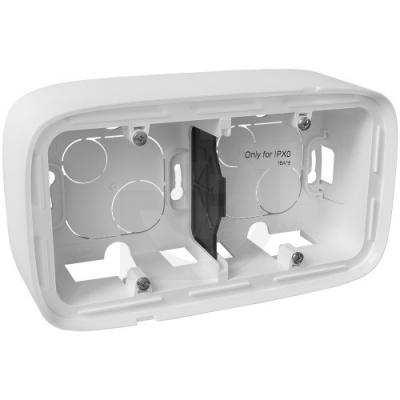 Legrand Valena Allure Белый Коробка для накладного монтажа 2 поста купить в интернет-магазине Азбука Сантехники