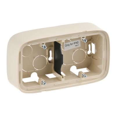 Legrand Valena Allure Слоновая кость Коробка для накладного монтажа 2 поста купить в интернет-магазине Азбука Сантехники