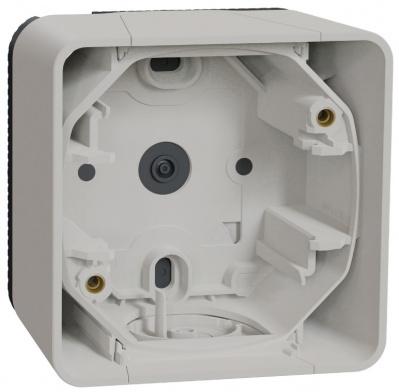 Schneider Electric Mureva Styl Белый Рамка подъемная 1 пост IP55 купить в интернет-магазине Азбука Сантехники