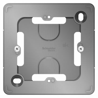 Schneider Electric Blanca Алюминий Коробка подъемная с возможностью соединения нескольких коробок скрытой установки купить в интернет-магазине Азбука Сантехники