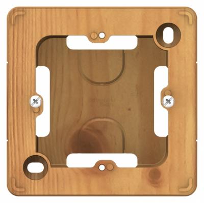 Schneider Electric Blanca Ясень Коробка подъемная с возможностью соединения нескольких коробок скрытой установки купить в интернет-магазине Азбука Сантехники