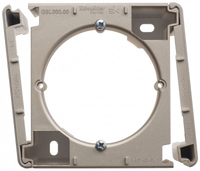 Schneider Electric Glossa Титан Коробка наружного монтажа купить в интернет-магазине Азбука Сантехники