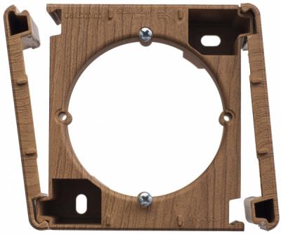Schneider Electric Glossa Дуб Коробка наружного монтажа купить в интернет-магазине Азбука Сантехники