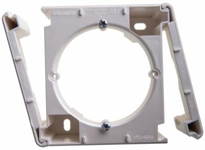 Schneider Electric Glossa Перламутр Коробка наружного монтажа купить в интернет-магазине Азбука Сантехники