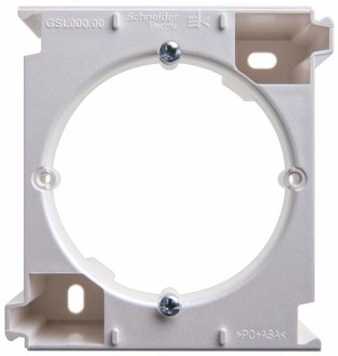 Schneider Electric Glossa Перламутр Расширение коробки наружного монтажа купить в интернет-магазине Азбука Сантехники