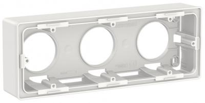 Schneider Electric Unica New Белый Коробка для открытой установки 2-постовая купить в интернет-магазине Азбука Сантехники