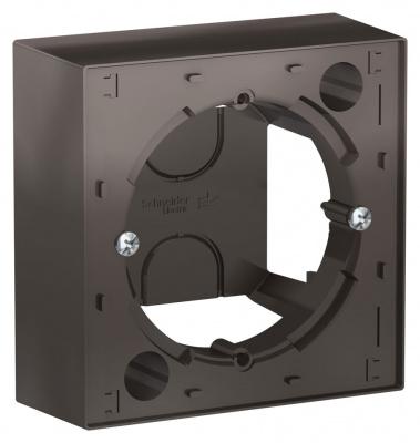 Schneider Electric AtlasDesign Мокко Коробка для наружного монтажа купить в интернет-магазине Азбука Сантехники