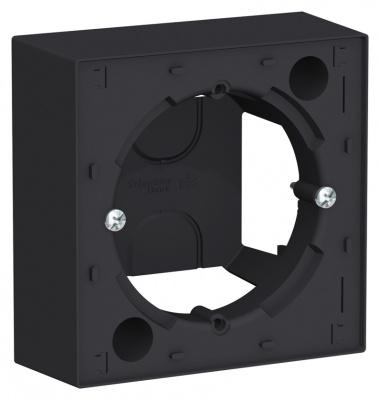 Schneider Electric AtlasDesign Карбон Коробка для наружного монтажа купить в интернет-магазине Азбука Сантехники