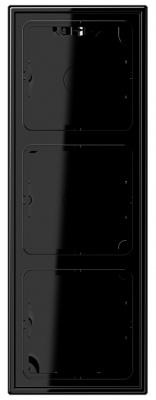 Jung Черный Коробка для накладного монтажа с рамкой LS (LS583ASW) купить в интернет-магазине Азбука Сантехники