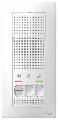 Schneider Electric Blanca Белый Переговорное устройство настенный монтаж 4,5В купить в интернет-магазине Азбука Сантехники