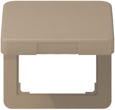Jung Бронза Крышка откидная для розеток и изделий 50х50 (CD590KLGB) купить в интернет-магазине Азбука Сантехники