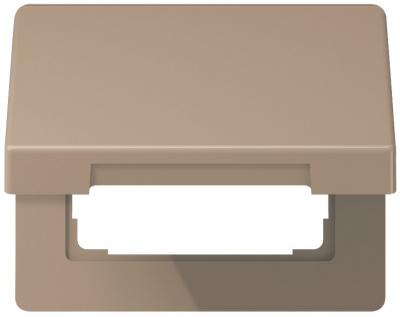 Jung Бронза Крышка откидная для розеток и изделий 50х50 (SL590KLGB) купить в интернет-магазине Азбука Сантехники