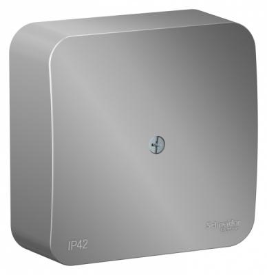 Schneider Electric Blanca Алюминий Коробка распределительная накладного монтажа IP42 купить в интернет-магазине Азбука Сантехники