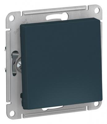 Schneider Electric AtlasDesign Изумруд Кнопка нажимная сх.1 10AX механизм купить в интернет-магазине Азбука Сантехники