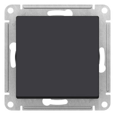 Schneider Electric AtlasDesign Карбон Кнопка нажимная сх.1 10AX механизм купить в интернет-магазине Азбука Сантехники