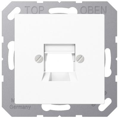 Jung Белый Крышка для модульных гнезд AMP 5KAT купить в интернет-магазине Азбука Сантехники