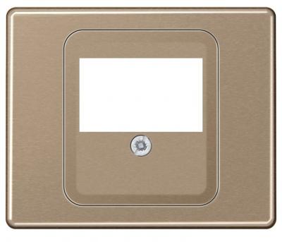Jung Золотая бронза Крышка для ТАЕ гнезд; золотая бронза купить в интернет-магазине Азбука Сантехники