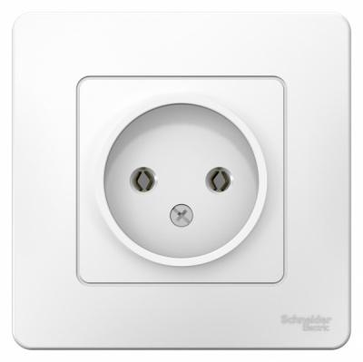 Schneider Electric Blanca Белый Розетка б/з без шторок скрытой установки 16A 250В купить в интернет-магазине Азбука Сантехники