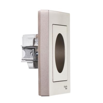 Schneider Electric AtlasDesign Алюминий Розетка б/з 16A в сборе купить в интернет-магазине Азбука Сантехники