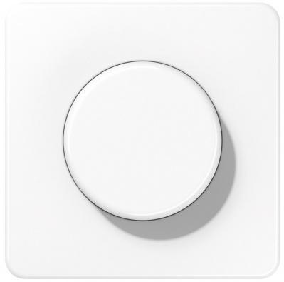 Jung Белый Накладка светорегулятора поворотного (CD1540WW) купить в интернет-магазине Азбука Сантехники