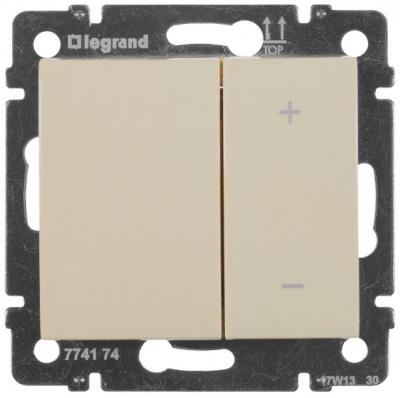 Legrand Valena Слоновая кость Светорегулятор нажимной 2-клавишный 40–600 Вт для л/н г/л купить в интернет-магазине Азбука Сантехники