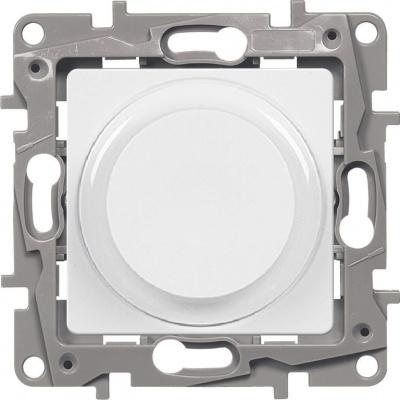 Legrand Etika Белый Светорегулятор поворотный без нейтрали 300 Вт купить в интернет-магазине Азбука Сантехники