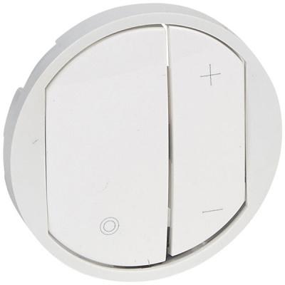 Legrand Celiane Белый Накладка светорегулятора нажимного купить в интернет-магазине Азбука Сантехники