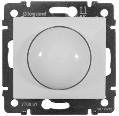 Legrand Valena Белый Светорегулятор поворотно-нажимной 100-1000 Вт для л/н г/л купить в интернет-магазине Азбука Сантехники