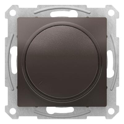 Schneider Electric AtlasDesign Мокко Светорегулятор (диммер) поворотно-нажимной 315Вт механизм купить в интернет-магазине Азбука Сантехники
