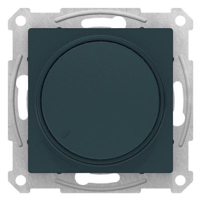 Schneider Electric AtlasDesign Изумруд Светорегулятор (диммер) поворотно-нажимной 630Вт механизм купить в интернет-магазине Азбука Сантехники