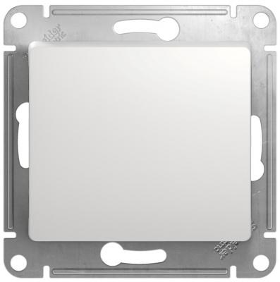 Schneider Electric Glossa Белый Переключатель 1-клавишный 10A (схема 6) купить в интернет-магазине Азбука Сантехники