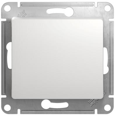 Schneider Electric Glossa Белый Переключатель перекрестный (схема 7) 10AX механизм купить в интернет-магазине Азбука Сантехники