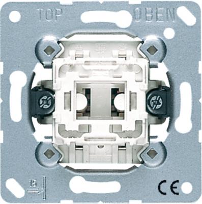 Jung Механизм Переключатель 1-клавишный 10A (506U) купить в интернет-магазине Азбука Сантехники