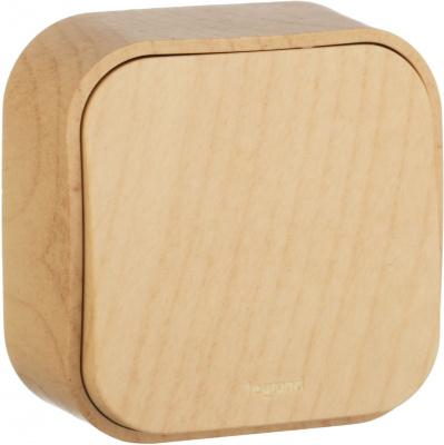Legrand Quteo Сосна Переключатель 1-клавишный на 2 направления 10A IP20 купить в интернет-магазине Азбука Сантехники