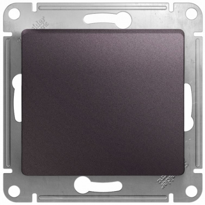 Schneider Electric Glossa Сиреневый туман Переключатель 1-клавишный (схема 6) 10AX механизм купить в интернет-магазине Азбука Сантехники