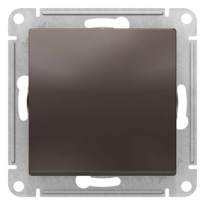 Schneider Electric AtlasDesign Мокко Переключатель 1-клавишный сх.6 10AX механизм купить в интернет-магазине Азбука Сантехники