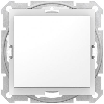 Schneider Electric Sedna Белый Переключатель 1-клавишный 10A IP44 купить в интернет-магазине Азбука Сантехники