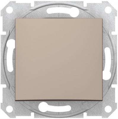 Schneider Electric Sedna Титан Переключатель перекрестный 1-клавишный 10A купить в интернет-магазине Азбука Сантехники