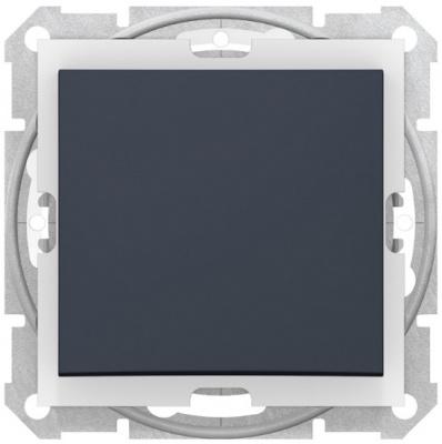 Schneider Electric Sedna Графит Переключатель перекрестный 1-клавишный 10A IP44 купить в интернет-магазине Азбука Сантехники