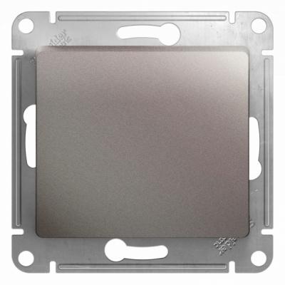 Schneider Electric Glossa Платина Переключатель 1-клавишный (схема 6) 10AX механизм купить в интернет-магазине Азбука Сантехники