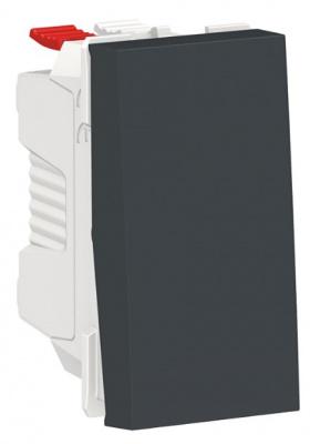 Schneider Electric Unica New Modular Антрацит Переключатель 1-клавишный сх.6 10 AX 250В 1 модуль купить в интернет-магазине Азбука Сантехники