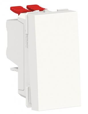 Schneider Electric Unica New Modular Белый Переключатель 1-клавишный перекрестный сх.7 10 AX 250В купить в интернет-магазине Азбука Сантехники