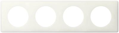 Legrand Celiane Белый глянец Рамка 4 поста / 2+2+2+2 мод купить в интернет-магазине Азбука Сантехники