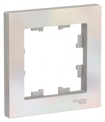 Schneider Electric AtlasDesign Жемчуг Рамка 1-постовая купить в интернет-магазине Азбука Сантехники