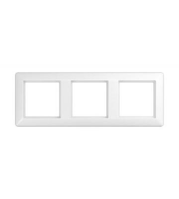 Jung AS 500 Белый Рамка 3-постовая купить в интернет-магазине Азбука Сантехники