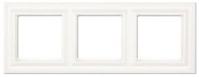 Jung EcoProfi Античная латунь Рамка 3-постовая купить в интернет-магазине Азбука Сантехники