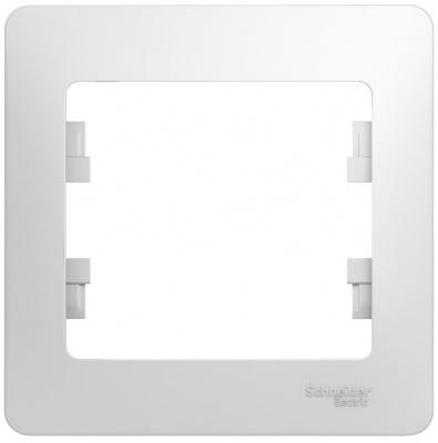 Schneider Electric Glossa Белый Рамка 1-постовая купить в интернет-магазине Азбука Сантехники